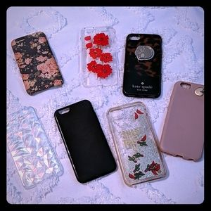 Accessories - 7 Iphone 6s cases inc Kate Spade